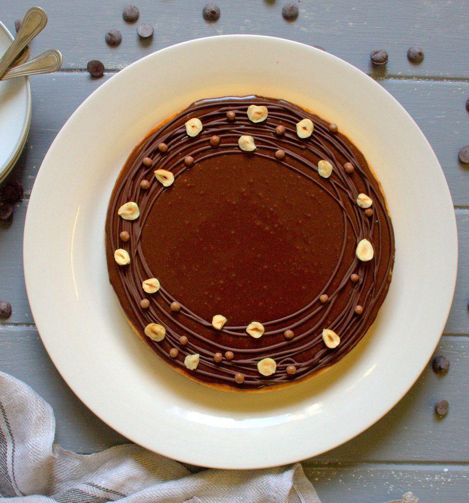 Tarte chocolat au lait et caramel