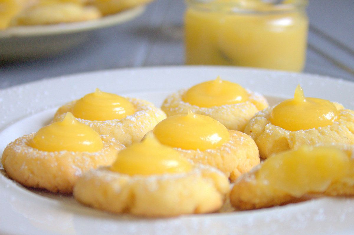 Biscuits sablés à la crème de citron
