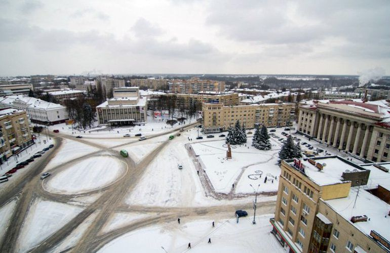 Few solutions for The New Year season in Zhytomyr