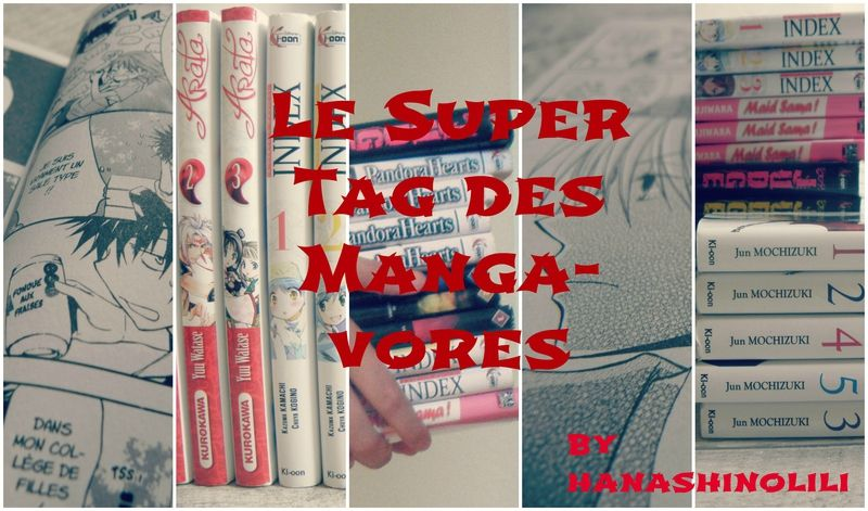 Listen to my story ~ Le super tag des mangavores