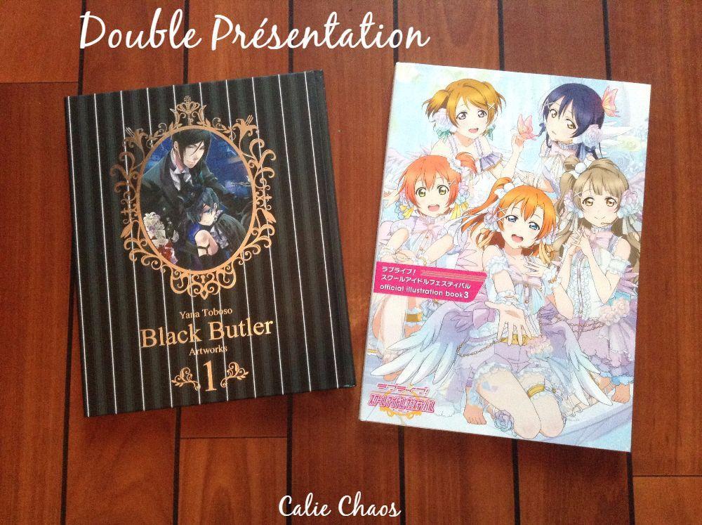 Double Présentation : Love Live Official Illustration Book 3 &amp&#x3B; Black Butler Artbook 1