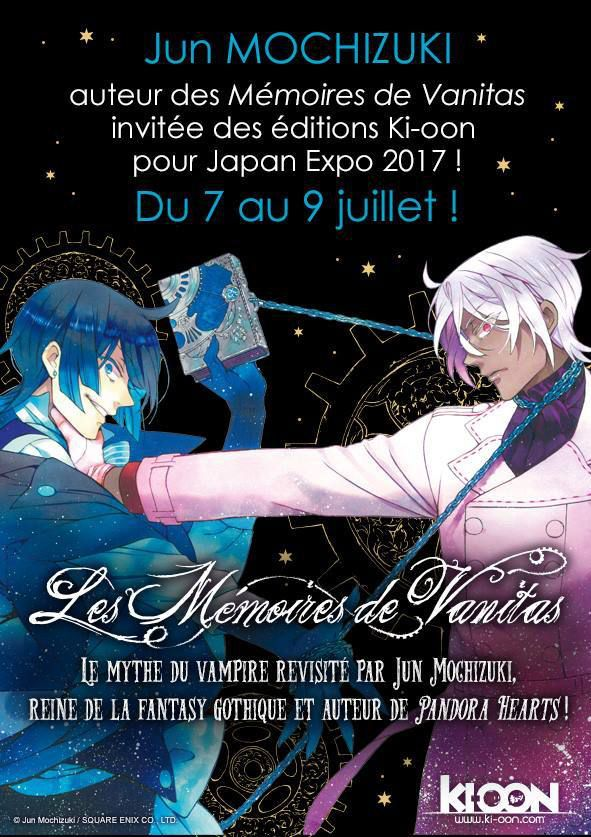 News #14 : Jun Mochizuki à Japan Expo + Projet Fanbook!