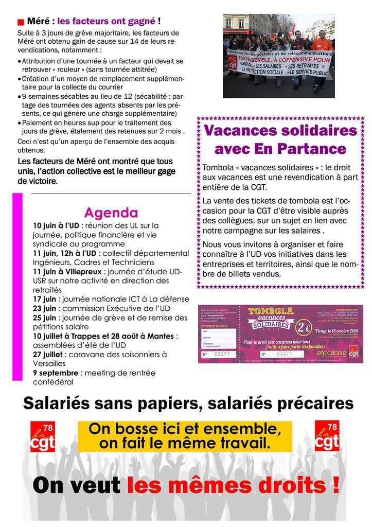 REVENDIC'ACTION 78 - juin 2015