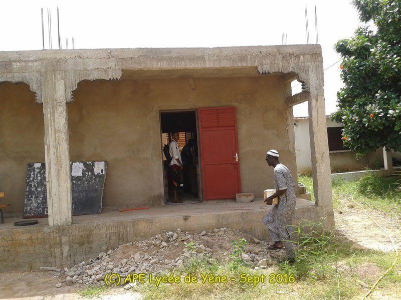Un laboratoire pour le Lycée : reprise des travaux