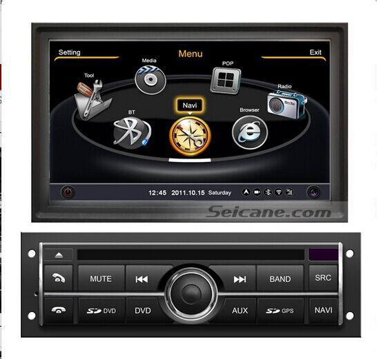 How to install 2006-2013 Mitsubishi L200 navigation system