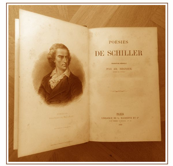 Les œuvres complètes de Schiller en français