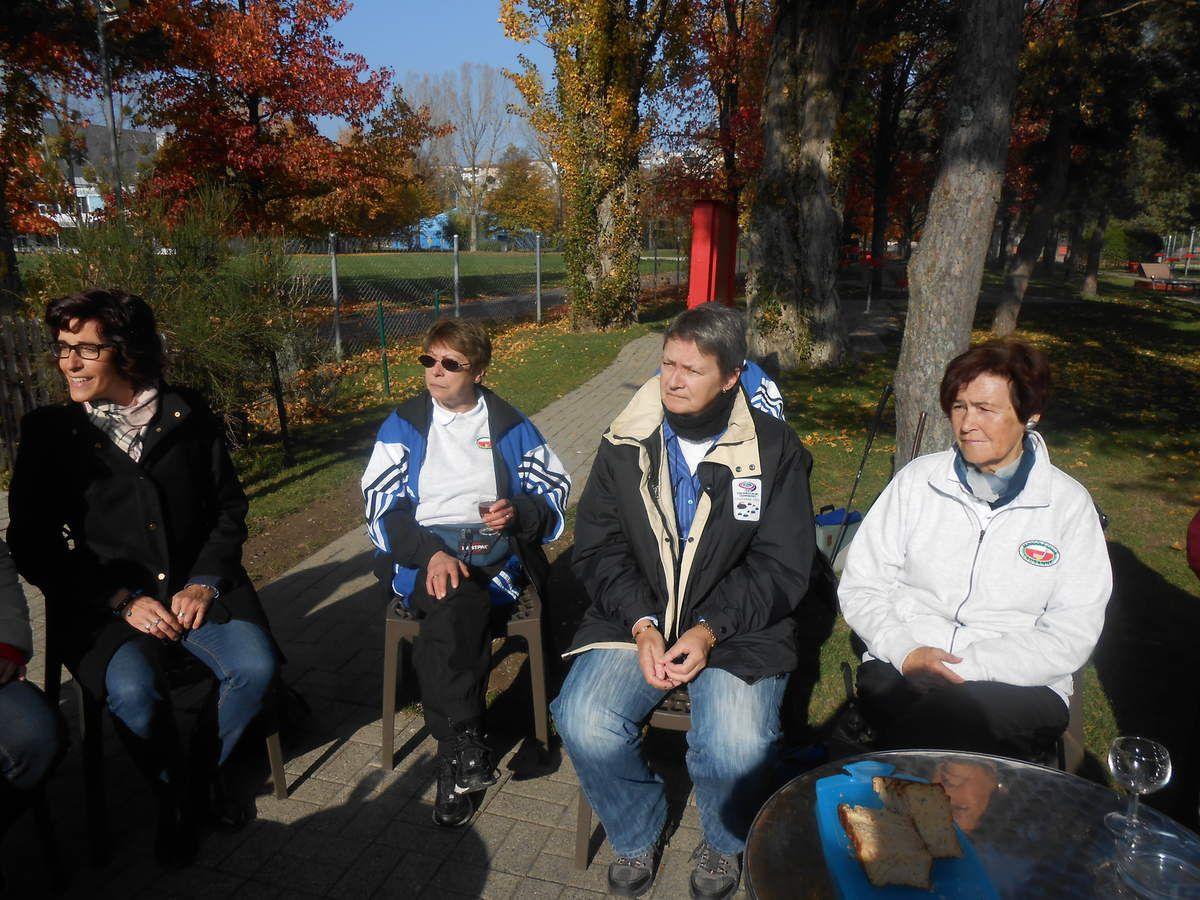 Tournoi de clôture du minigolf club Lausanne du 01.11.2015