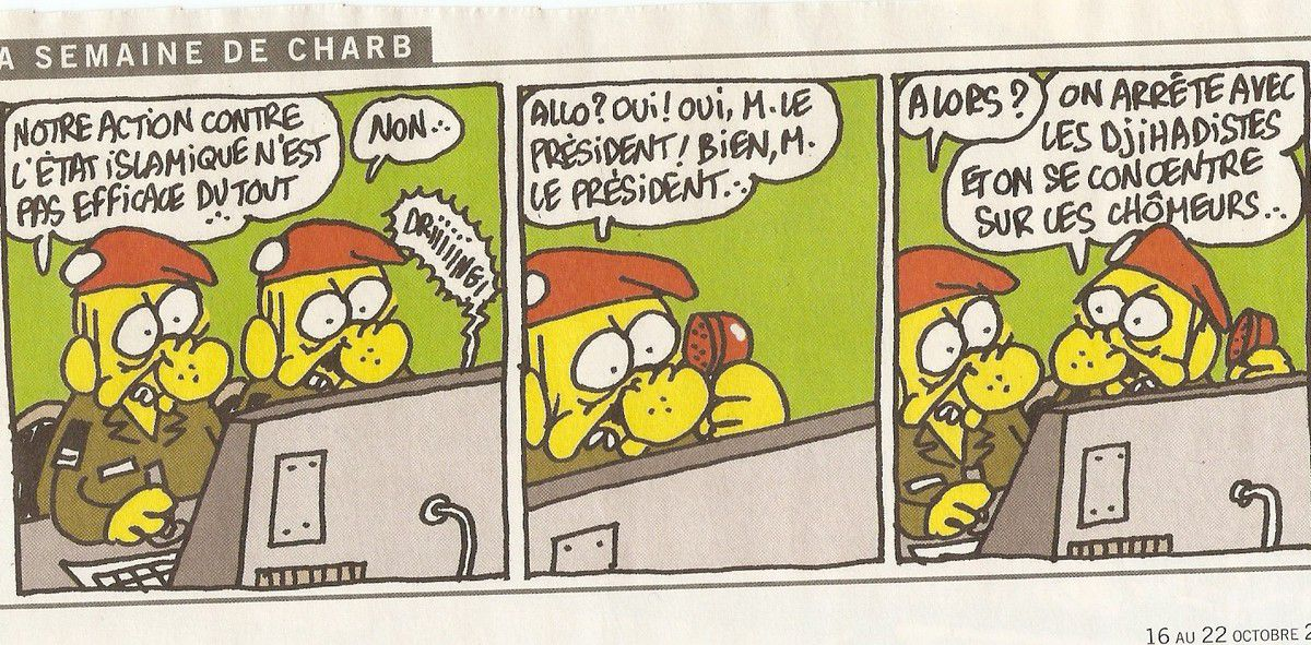 Dessin prophétique de Charb, quelques semaines avant sa mort