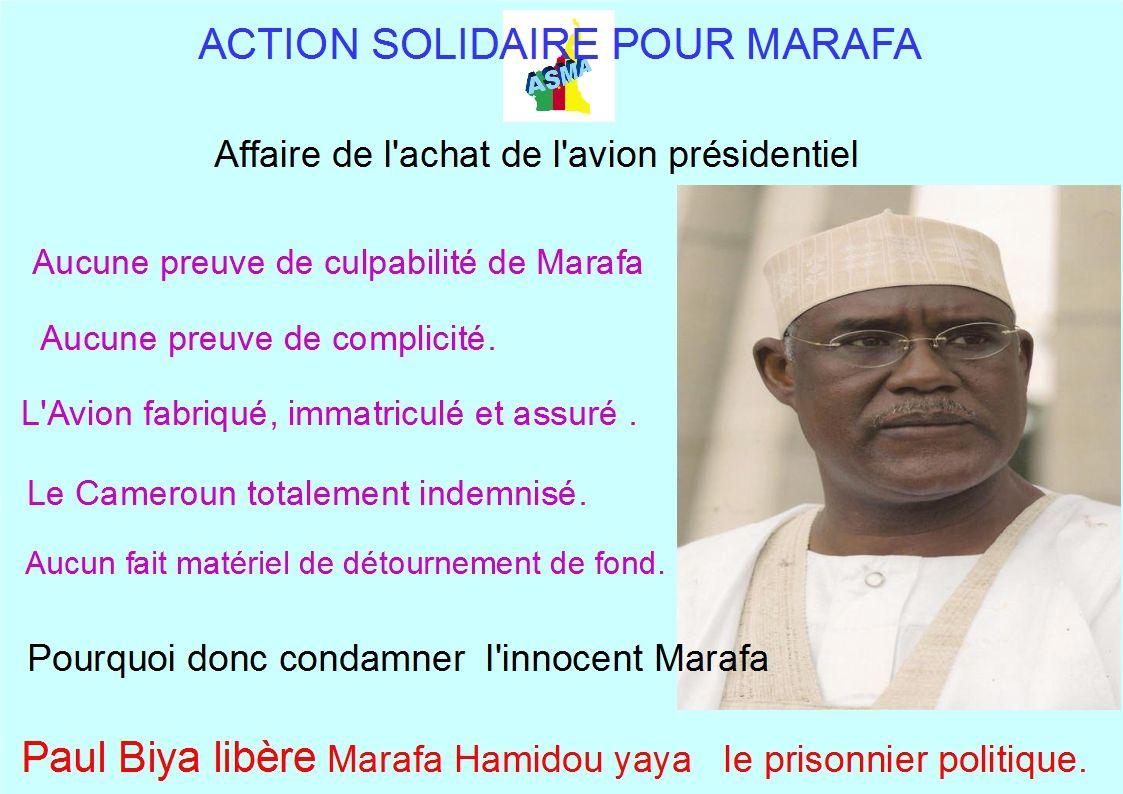 Marafa Hamidou Yaya le prisonnier du Président.