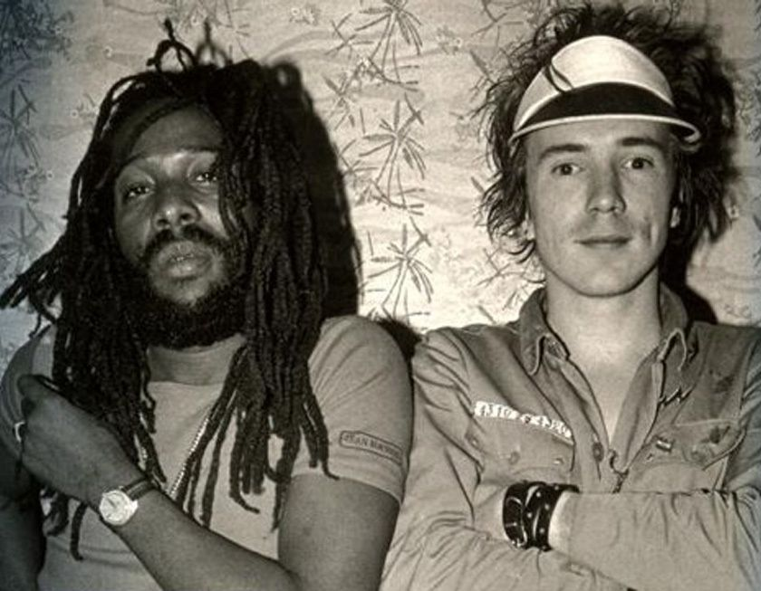 Johnny Rotten et Big Youth