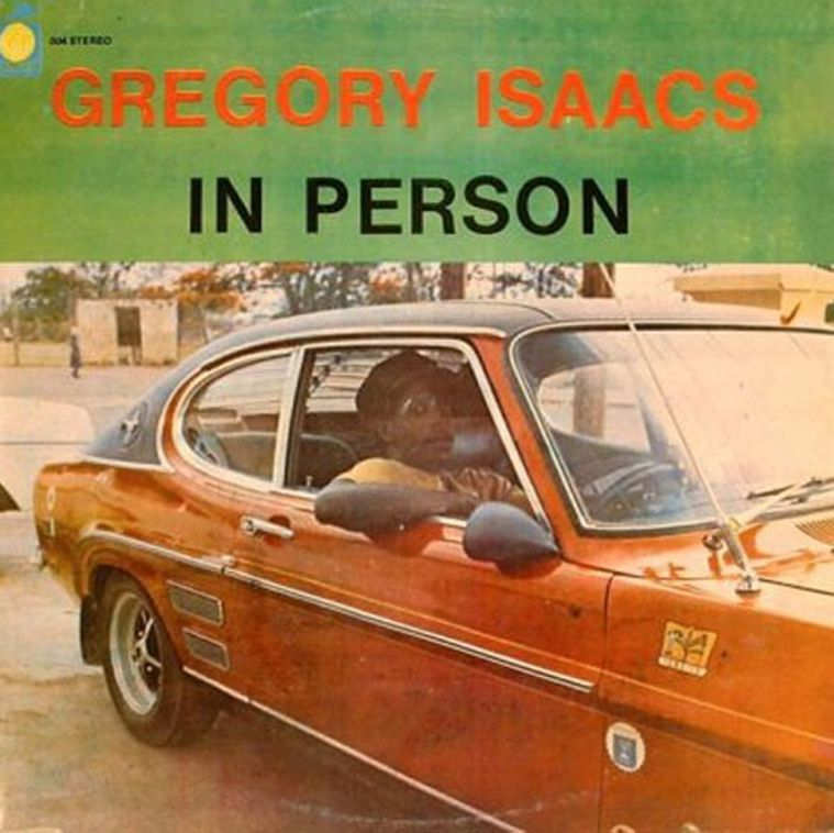 Gregory Isaacs In person (photo)