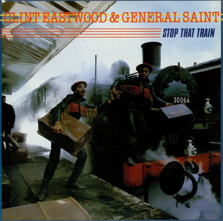 Clint Eastwood and General Saint Stop That Train
