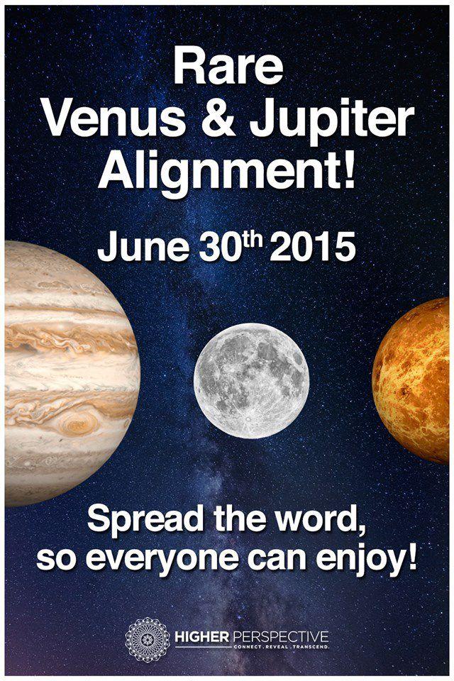 Exceptionnel... Aujourd'hui... nouvelle triangulation de Jupiter, Venus et la Lune...