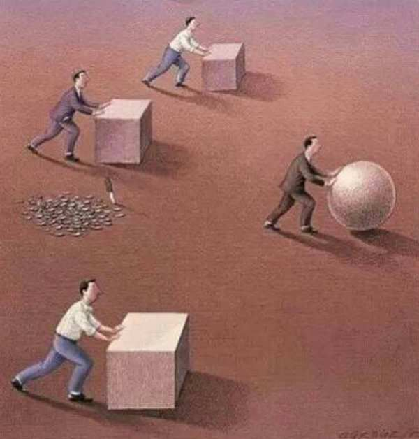 Don't work hard, work intelligent