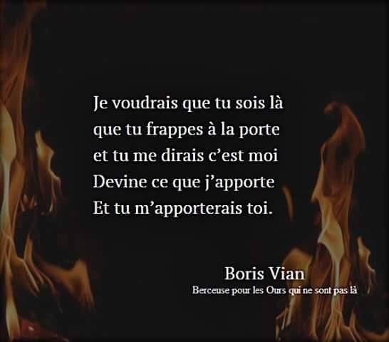 Boris Vian - 7 citations en images
