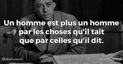 Albert Camus - 34 citations en images