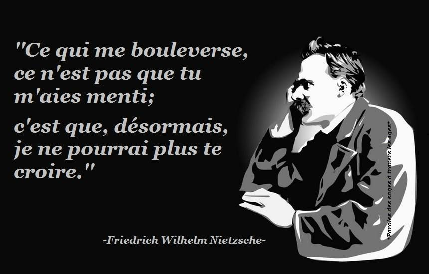 Friedrich Wilhelm Nietzsche 14 Citations La Vache Rose