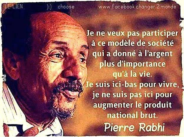 Pierre Rabhi - 7 Citations