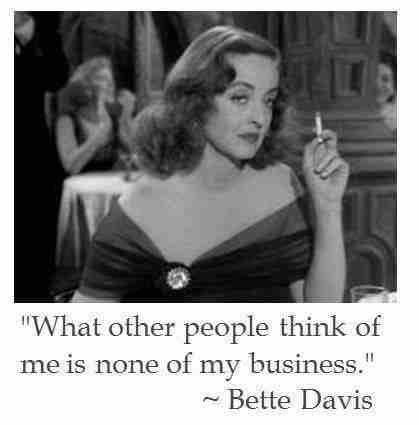Bette Davis - English