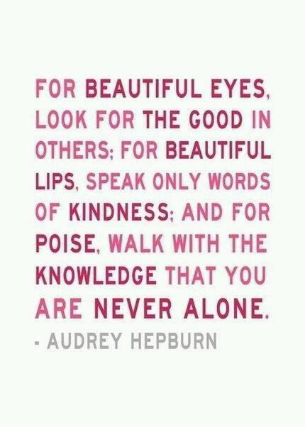 Audrey Hepburn - English - 10 Quotes