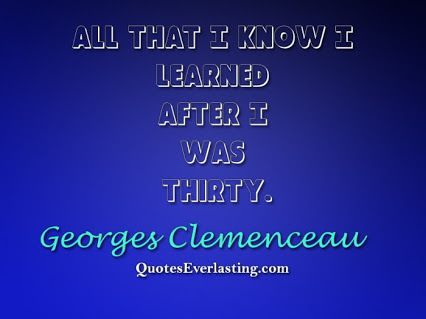Georges Clemenceau - English