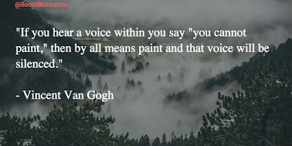 Vincent Van Gogh - English - 3 Quotes