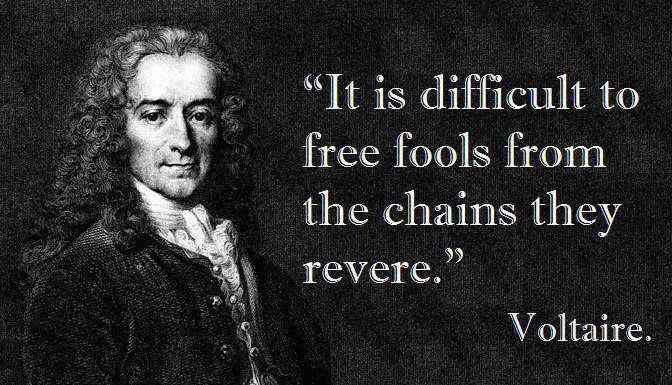 Voltaire - English - 3 Quotes