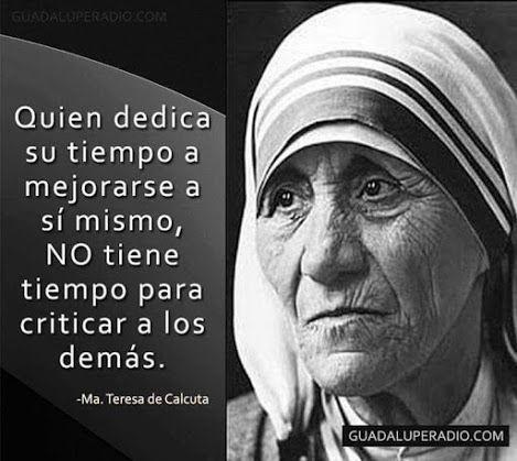 Madre Teresa - Castellano - 13 Frases
