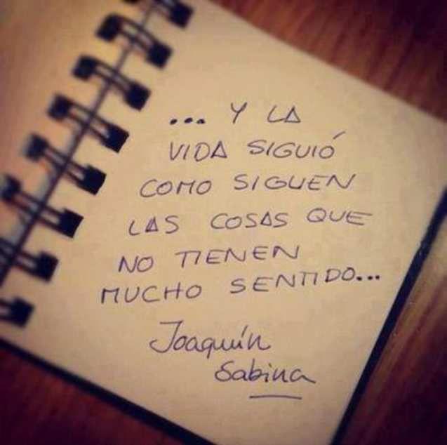 Joaquín Sabina - Castellano - 56 Frases