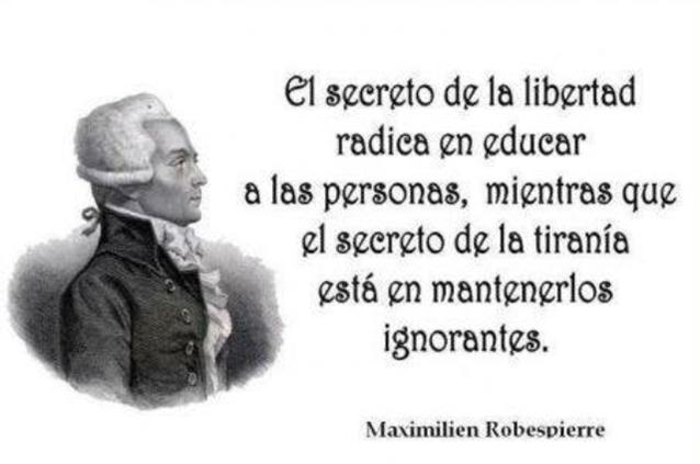 Maximilien Robespierre - Castellano