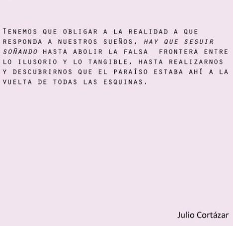 Julio Cortázar - Castellano - 14 Frases