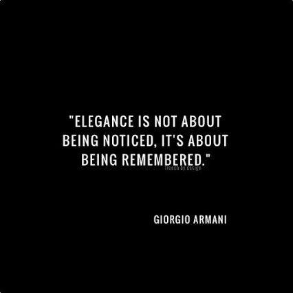 Giorgio Armani - English