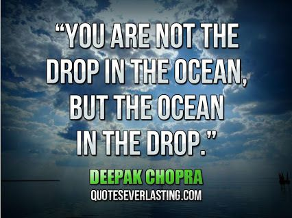 Deepak Chopra - English - 12 Quotes