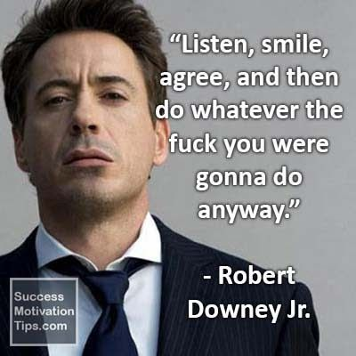 Robert Downey Jr. - English