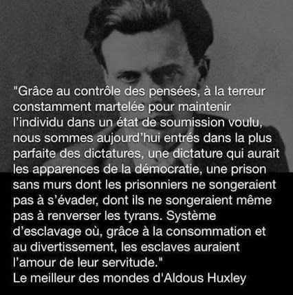 Aldous Huxley - 4 Citations