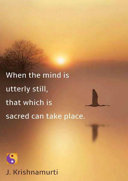 Krishnamurti - English - 3 Quotes