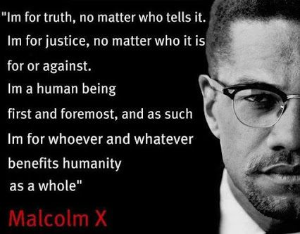 Malcolm X - English 3 Quotes