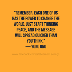 Yoko Ono - English - 2 Quotes