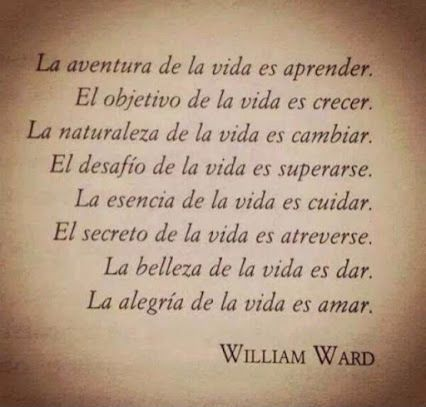 William Arthur Ward - Castellano - 2 Frases