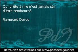 Raymond Devos - 11 Citations