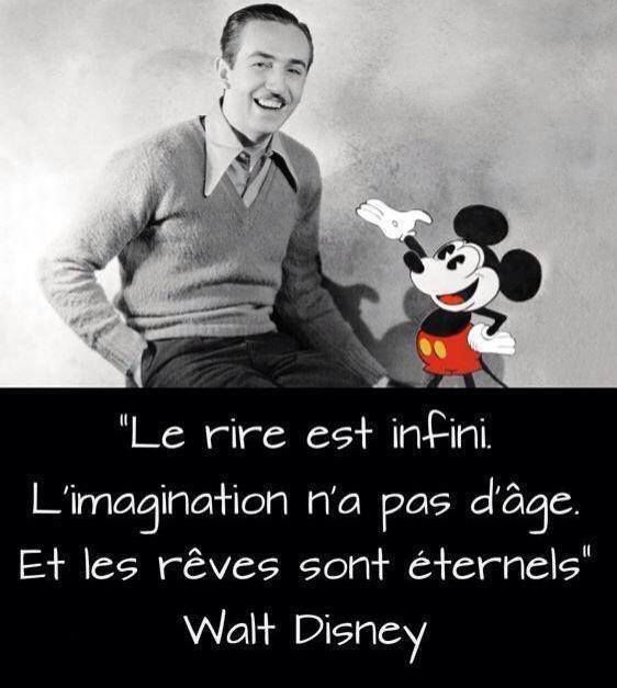 Walt Disney - 2 Citations