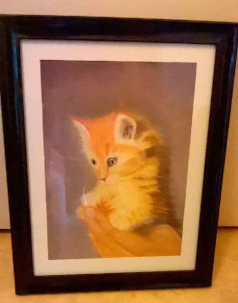 c'est la journée mondiale du chat ( découvrez ou redécouvrez  ce tableau)