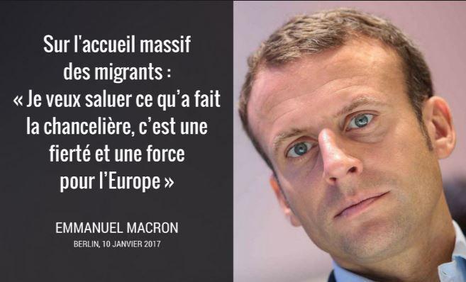 Macron-Rothschild le candidat des usuriers métisseurs Nouvel Ordre Mondialistes