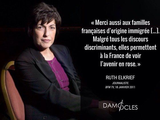 (((Ruth Elkrief))) aime l'immigration