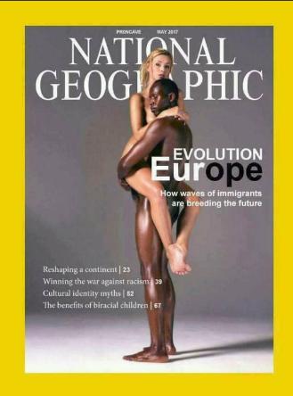 National Geographic fait la propagande du métissage