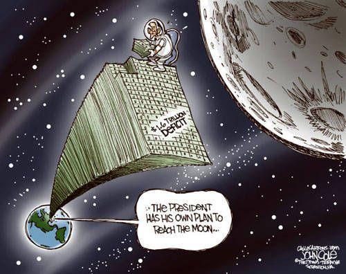 Scoop : Donald Trump a un plan pour aller sur la Lune !