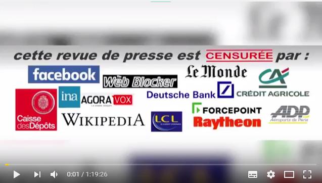 P.Jovanovic et L.Fendt La revue de Presse Juillet Août 2017 (vidéo)