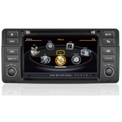 acheter a bas prix autoradio dvd gps bmw 3 e46 m3 x3 z3 z4. Black Bedroom Furniture Sets. Home Design Ideas