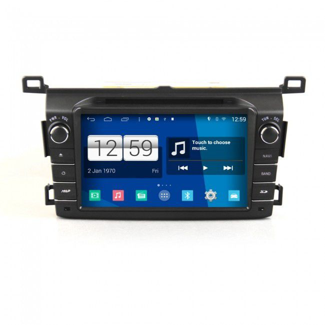 achat autoradio android toyota rav4 2013 poste dvd gps android 4 4 4 usb bluetooth cran tactile. Black Bedroom Furniture Sets. Home Design Ideas