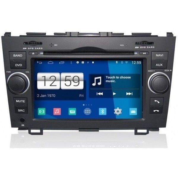 autoradio android honda cr v poste autoradio dvd gps usb bluetooth cran tactile mirrorlink. Black Bedroom Furniture Sets. Home Design Ideas